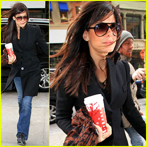 Sandra Bullock: Windy Day Woman!