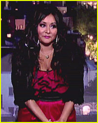 Snooki Reads Top Ten List on Letterman