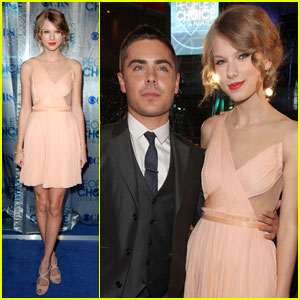 Zac Efron &#038; Taylor Swift: People's Choice Awards 2011!