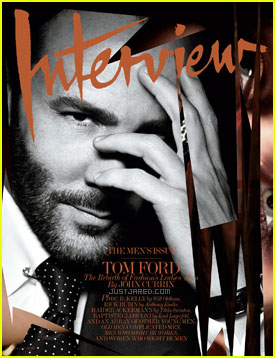 Tom Ford Covers 'Interview' February 2011