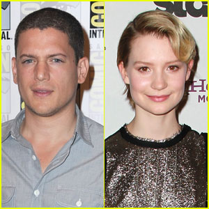 Mia Wasikowska: Starring in Wentworth Miller's 'Stoker'?