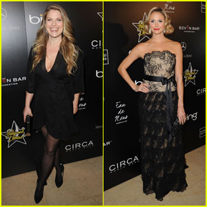 Ali Larter & Stacy Keibler: Hollywood Domino Gala Girls