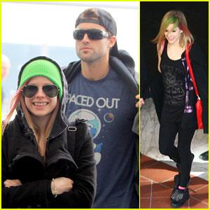 Avril Lavigne & Brody Jenner: Monaco Mates