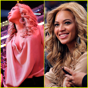 Beyonce: All-Star Game With Jay-Z!