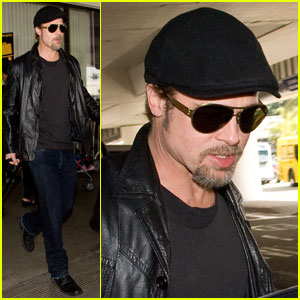 Brad Pitt: Back In Black