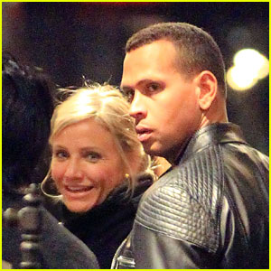 Cameron Diaz: John Varvatos Shopping with Alex Rodriguez
