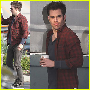 Chris Pine: Lobster Zone for 'Welcome to People'