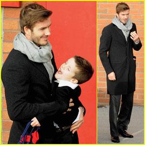 David Beckham Rescues A Str