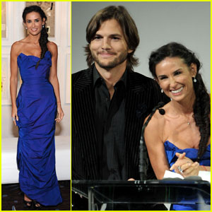 Demi Moore & Ashton Kutcher: CDGA Presenters