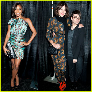 Gabrielle Union &#038; Alexa Chung: Christian Siriano Show!