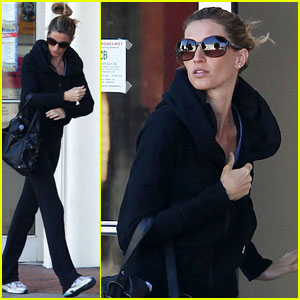 Gisele Bundchen: Monday Morning Gym Run!