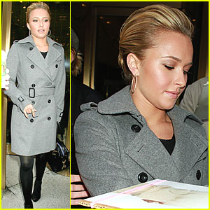 Hayden Panettiere: PIX11 Morning News Stop!