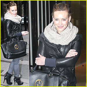 Hilary Duff: Shopping Spree in Paris!