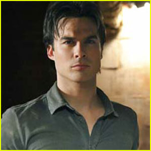 Ian Somerhalder Interview - JustJared.com Exclu