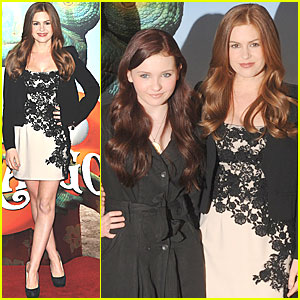 Isla Fisher: 'Rango' Photo Call with Abigail Breslin