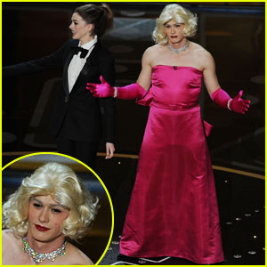 James Franco & Anne Hathaway: Oscar Crossdressers!