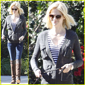 January Jones: Let's Go Steelers!