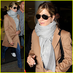Jennifer Aniston: Back in the USA!