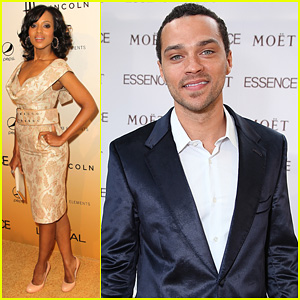 Jesse Williams &#038; Kerry Washington: Essence Luncheon