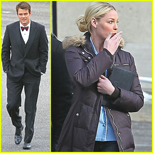 Josh Duhamel & Katherine Heigl: 'NYE' in Brooklyn!