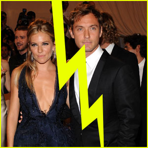 Jude Law &#038; Sienna Miller Split