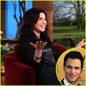 Julianna Margulies: My Husband Is Hot But Also Smart!