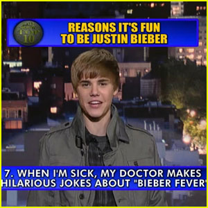 Justin Bieber: Top Ten on 'Letterman' Preview!