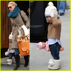 Katherine Heigl Checks Out with Naleigh