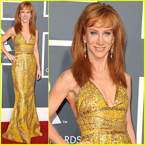 Kathy Griffin - Grammys 2011 Red Carpet