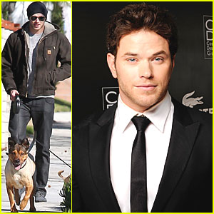 Kellan Lutz: Costume Designers Guild Awards Presenter!