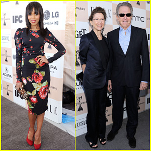 Kerry Washington & Annette Bening - Spirit Awards 2011