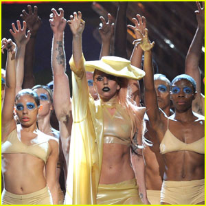 Lady Gaga: Grammys 2011 'Born This Way' Performance!