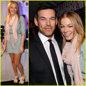 LeAnn Rimes: Grammy Gift Lounge with Eddie Cibrian!