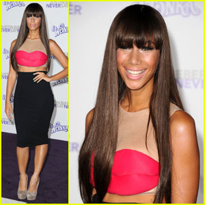 Leona Lewis: Bangin' at 'Never Say Never' Premiere