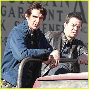 Mark Wahlberg & Lukas Haas: 'Contraband' in New Orleans!