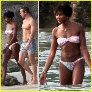 Naomi Campbell: Thai Vacation with Vladislav Doronin!