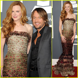 Nicole Kidman: Grammys 2011 Red Carpet with Keith Urban