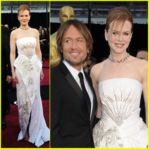 Nicole Kidman - Oscars 2011 Red Carpet with Keith Urban