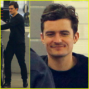 Orlando Bloom: Car Repair with Dad!