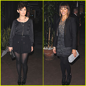 Rashida Jones: Chanel Dinner with Ginnifer Goodwin!