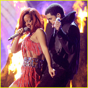 Rihanna: 'What's My Name' Grammy Performance with Drake!