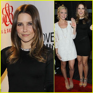 Sophia Bush & Brittany Snow: Love Is Louder T-Shirt Launch!