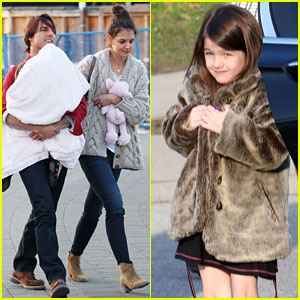 Katie Holmes & Tom Cruise: Science World with Suri!