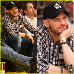 Tom Hardy: Lakers Game with Leo DiCaprio!