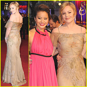 Abbie Cornish & Jamie Chung: 'Sucker Punch' London Premiere!