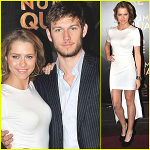 Alex Pettyfer: 'I Am Number Four' Paris Premiere with Teresa Palmer!