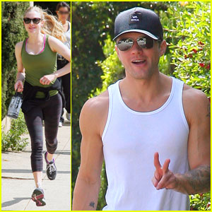 Amanda Seyfried &#038; Ryan Phillippe: Peace Run