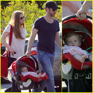 Amy Adams: Lunch with Darren Le Gallo & Aviana!
