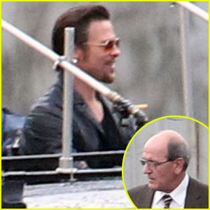 Brad Pitt: 'Cogan's Trade' with Richard Jenkins!
