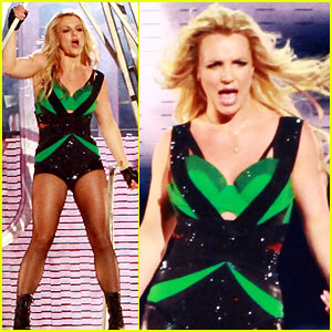 Britney Spears: 'Jimmy Kimmel' Performances!